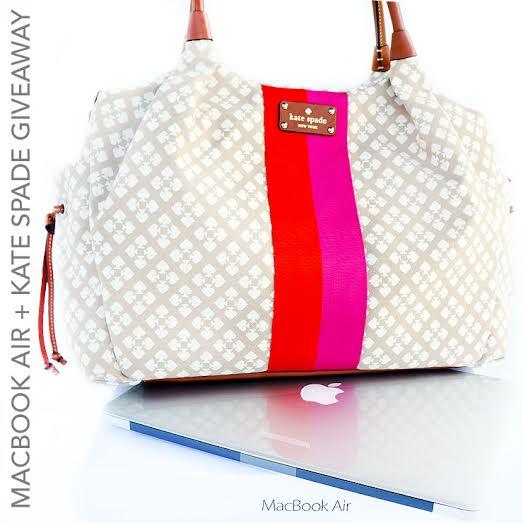 Macbook Air + Kate Spade Giveaway!