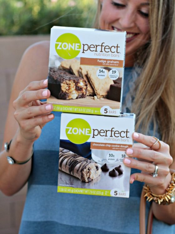 Snacking with Zone Perfect