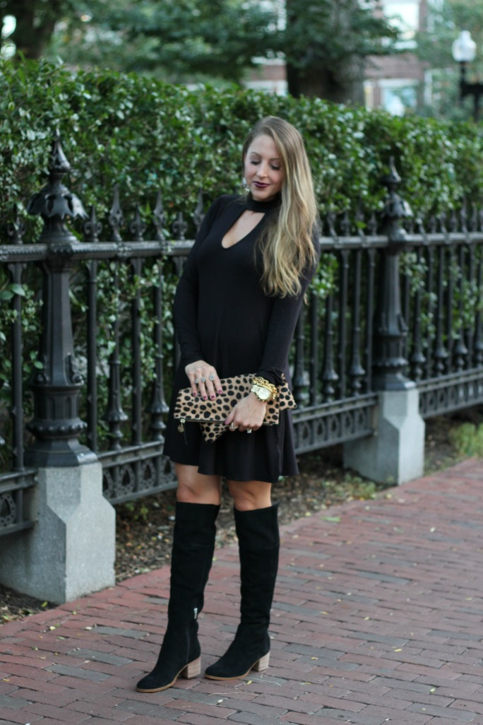 little-black-dress-leopard-clutch-and-over-the-knee-boots-7