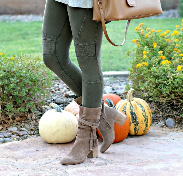 blanket-scarf-moto-leggings-cold-shoulder-top-prada-bag-and-tassel-booties-4