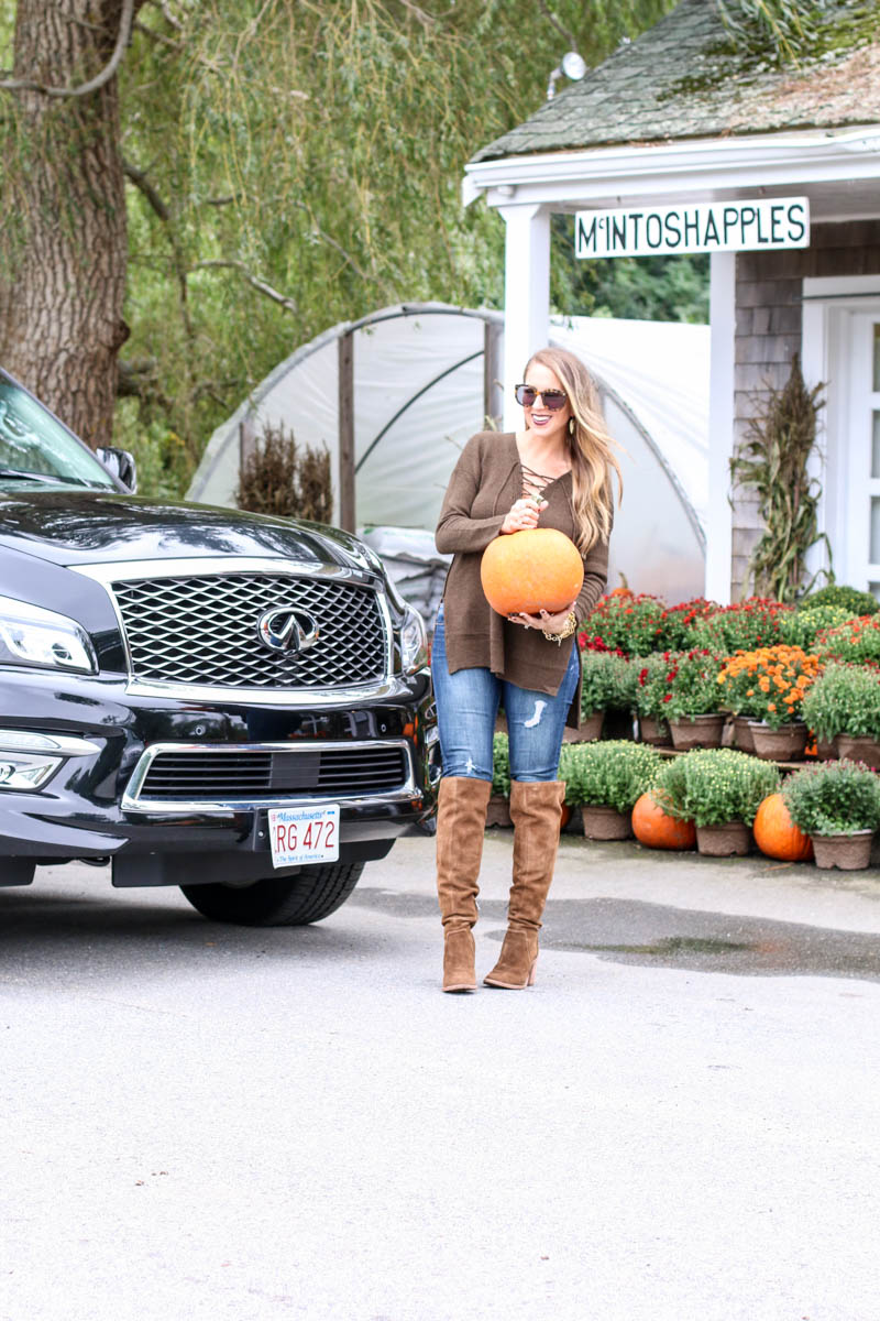 Hertz, pumpkins and over the knee
