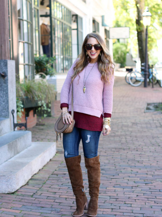 Blush, Burgundy and the Boots you Need