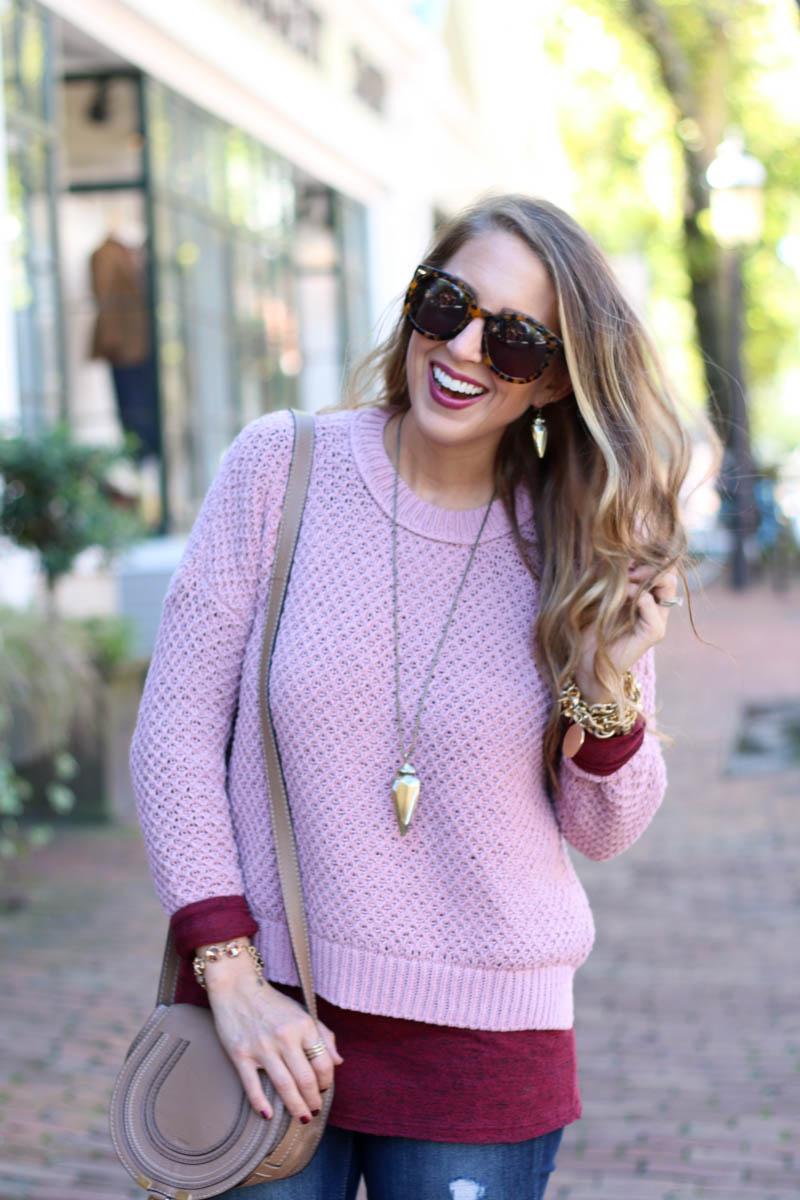 kendra scott jewels, blush and burgundy