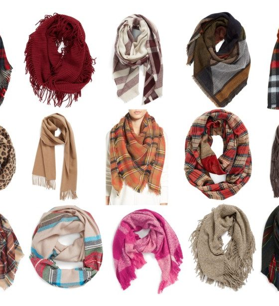 Scarves Under $50 with Free Shipping!
