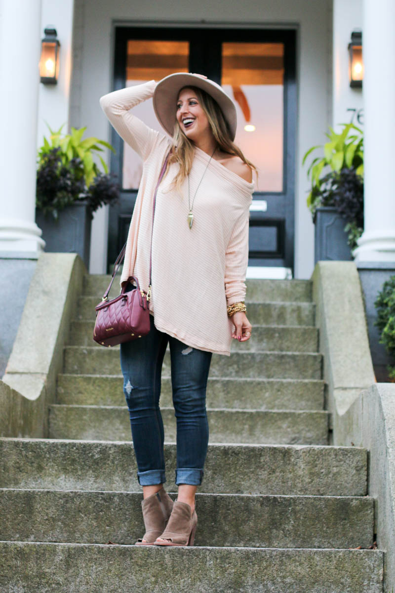 blush-off-the-shoulder-pullover-sweater-vera-bradley-and-kendra-scott-1-of-1