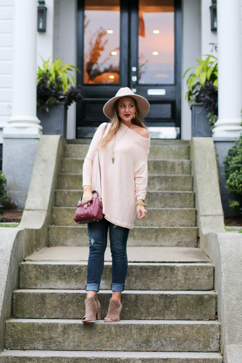 blush-off-the-shoulder-pullover-sweater-vera-bradley-kendra-scott-jewelry-1-of-1