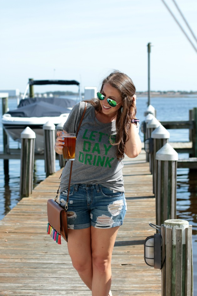 day drink tee for st patricks day
