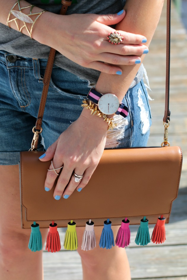 tassel bag and accessories