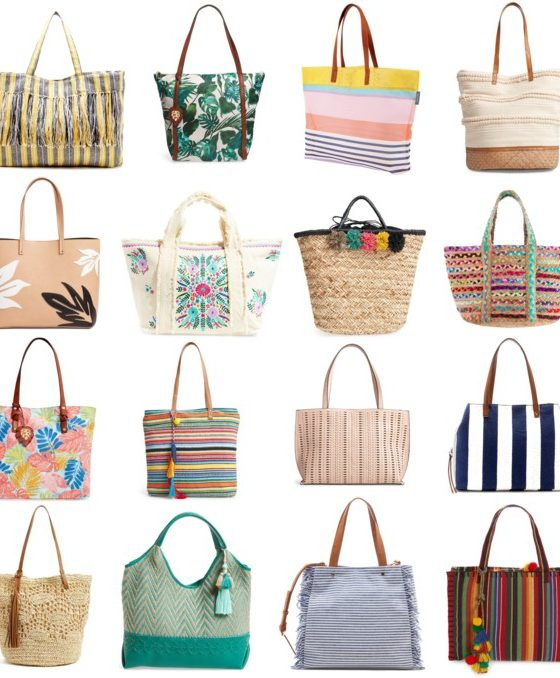 Totes that Double as Beach Bags Under $100