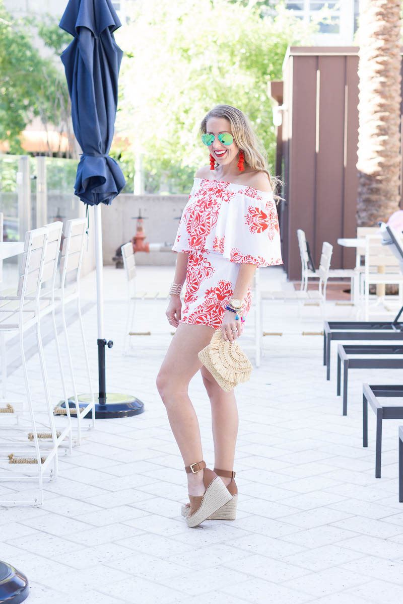 show me your mumu romper and baublebar tassels