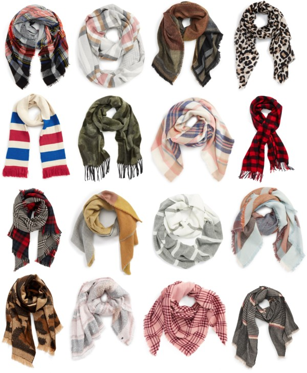 Fall Scarves Under $50