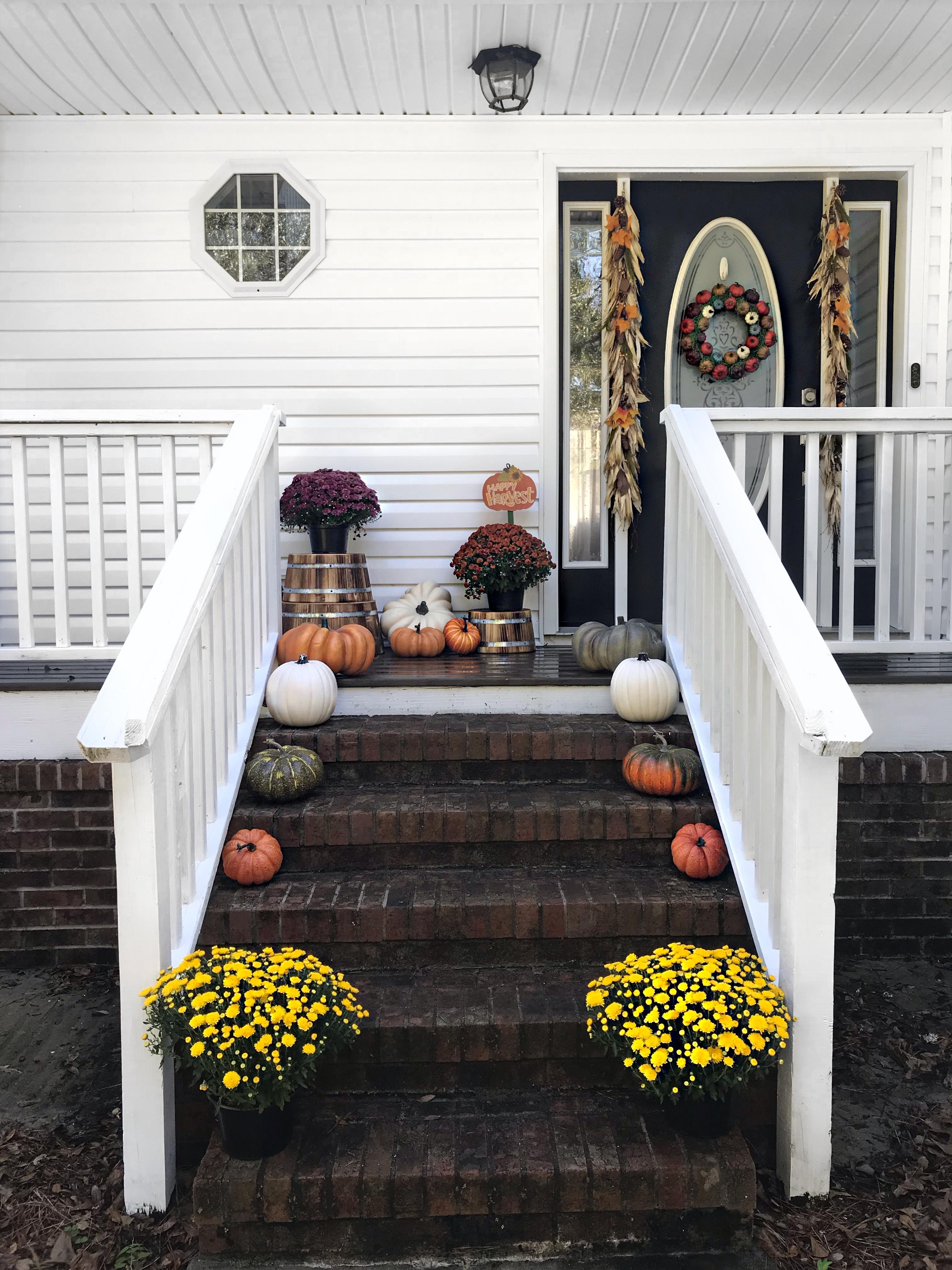 fabulous fall stoop
