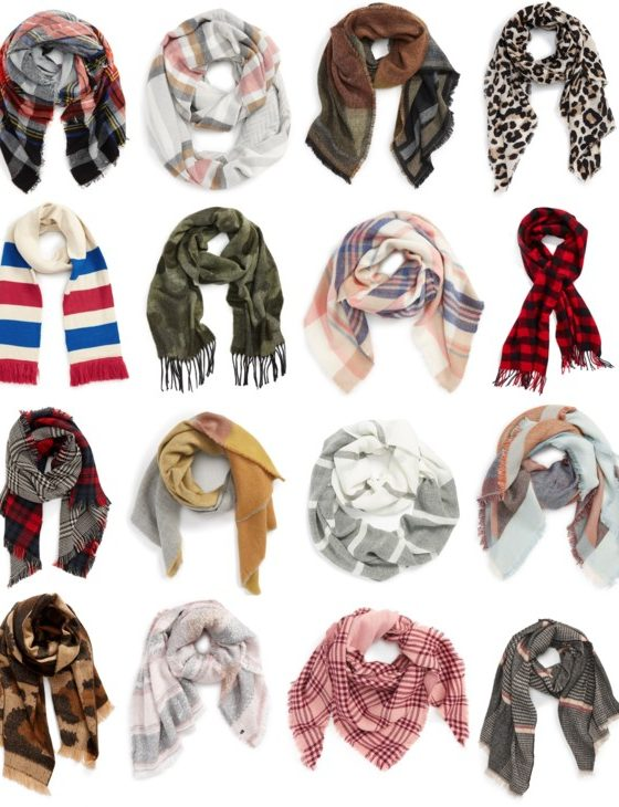 Fall Scarves Under $50 with Free Shipping