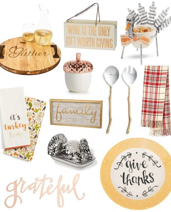 Thanksgiving Decor Less than $100